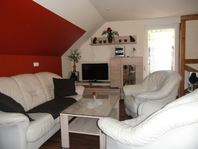Wohnzimmer im Ferienhaus in Stolberg